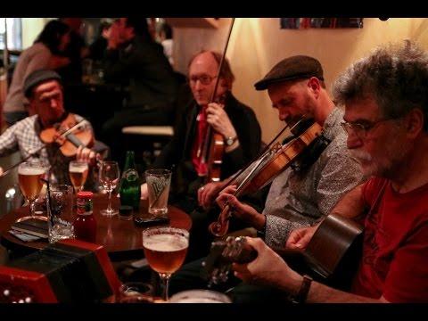 Session de musique irlandaise de Caen