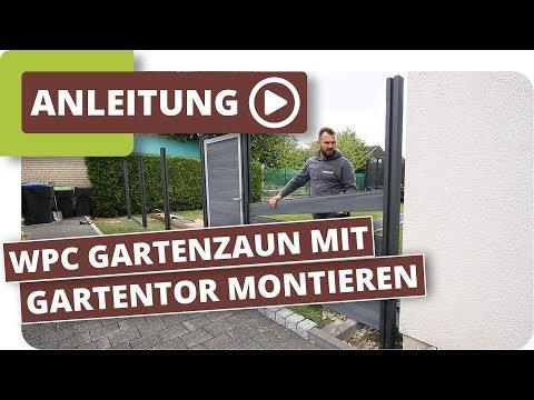 Fabulous Sichschutzzaun WPC selber bauen - Praxis-Tipps mit Video   planeo UT29