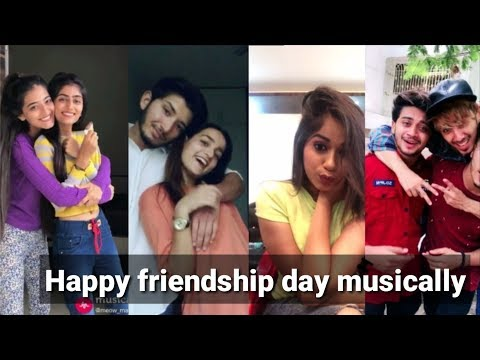 Happy friendship day musically best video 2018// Yaara teri yaari musically video compilation