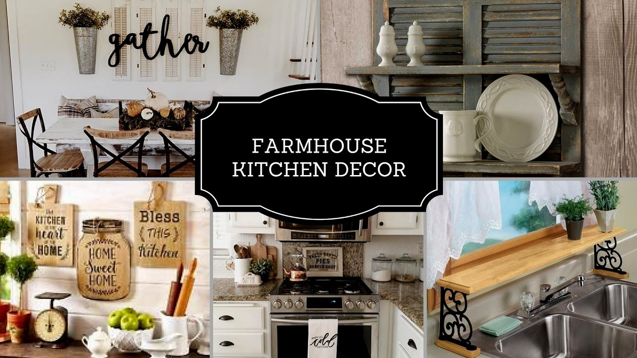 Diy kitchen decor coffee station farmhouse kitchen decor ideas 2017 youtube - Inspired diy ideas small kitchen ...