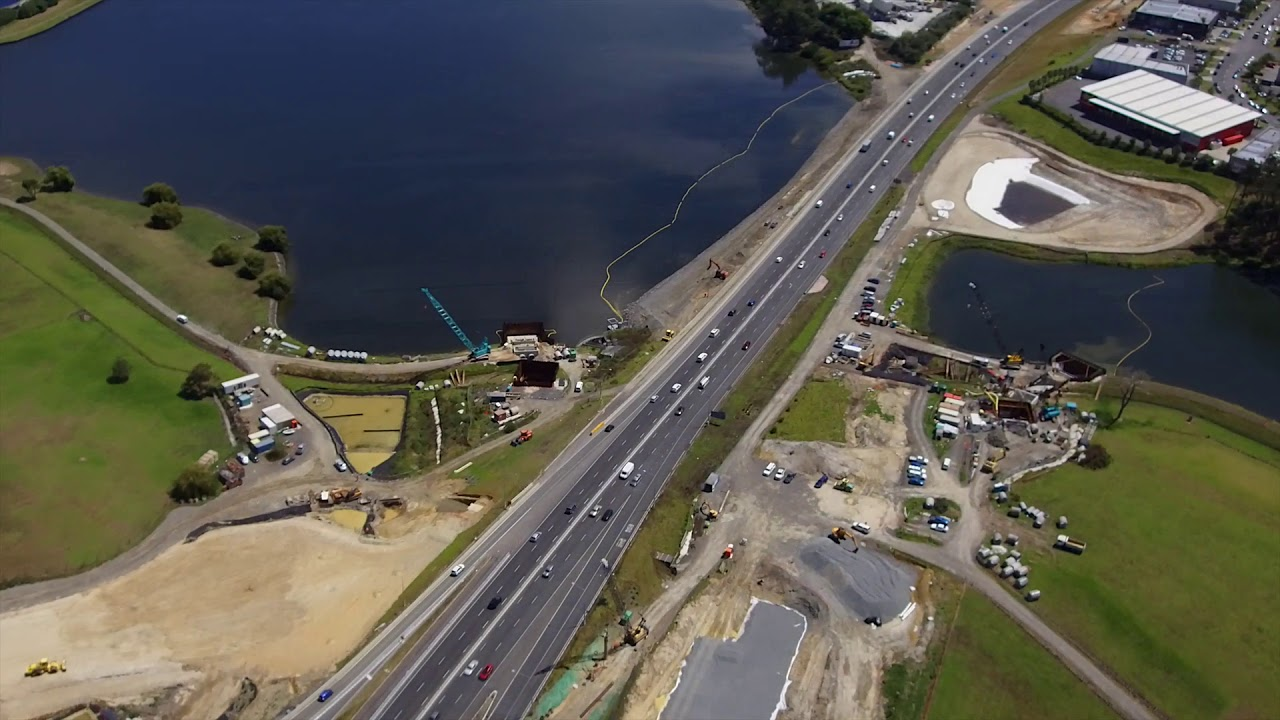 Northern Corridor Improvements aerial flyover - February 2019