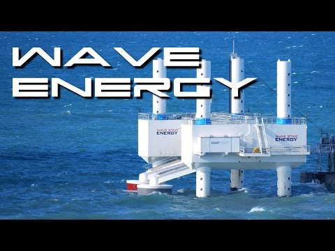 Kinetic Wave Power Station - Behold The Future