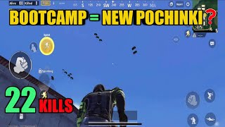 Bootcamp Sanhok War | New Map | Solo Vs Squad | PUBG Mobile
