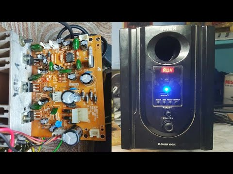 Intex Home Theatre Repairing How To Repair Intex Home Theatre Youtube
