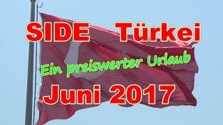 SIDE  Türkei-Urlaub  Juni 2017