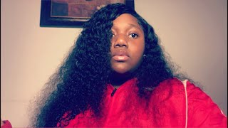 My first time really slayin a wig *omg* ft doubleleafwig