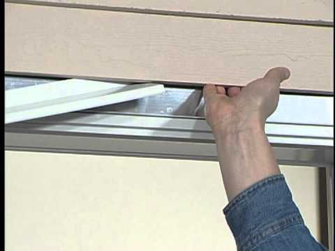 How To Install A Drip Cap To The Door Unit Youtube
