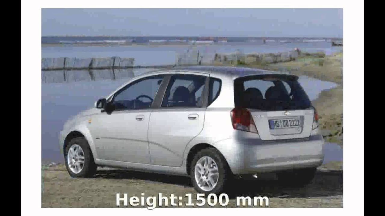 2010 chevrolet kalos 1 2 features review youtube rh youtube com Daewoo Aveo Daewoo Aveo