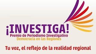 Premio ¡Investiga! 2015