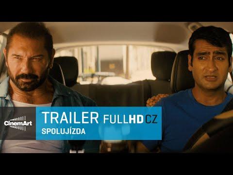 Spolujízda / Stuber (2019) oficiální HD trailer  [CZ TIT]