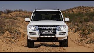 "Mitsubishi Pajero 4 off road (2015). Как прыгать на ""Паджеро"" IV?"