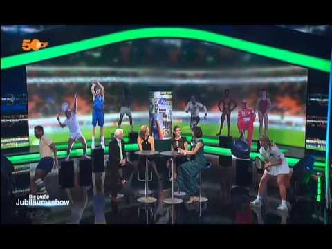 Das aktuelle Sportstudio bei der Jubiläumssendung 50 Jahre ZDF 2013