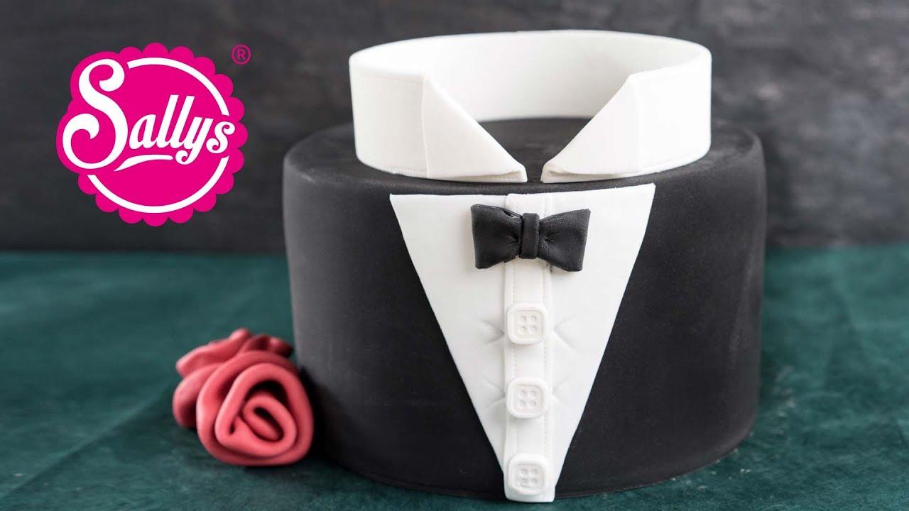 BrutigamMotivtorte  Smoking  Bachelor Cake  How to