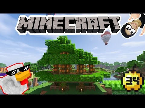 MEMBUAT FARM COCOA BEAN - MINECRAFT SURVIVAL INDONESIA #34