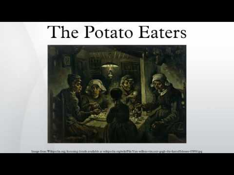 potato eaters painting essay