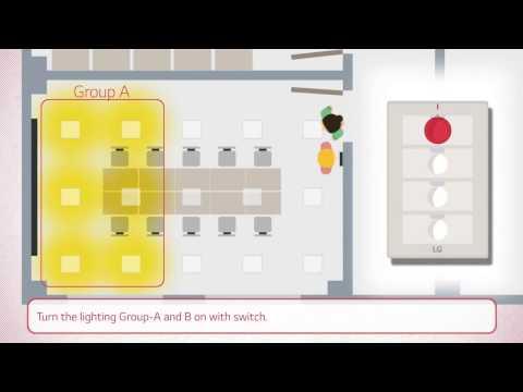 Using LG Smart Lighting in Office Applications