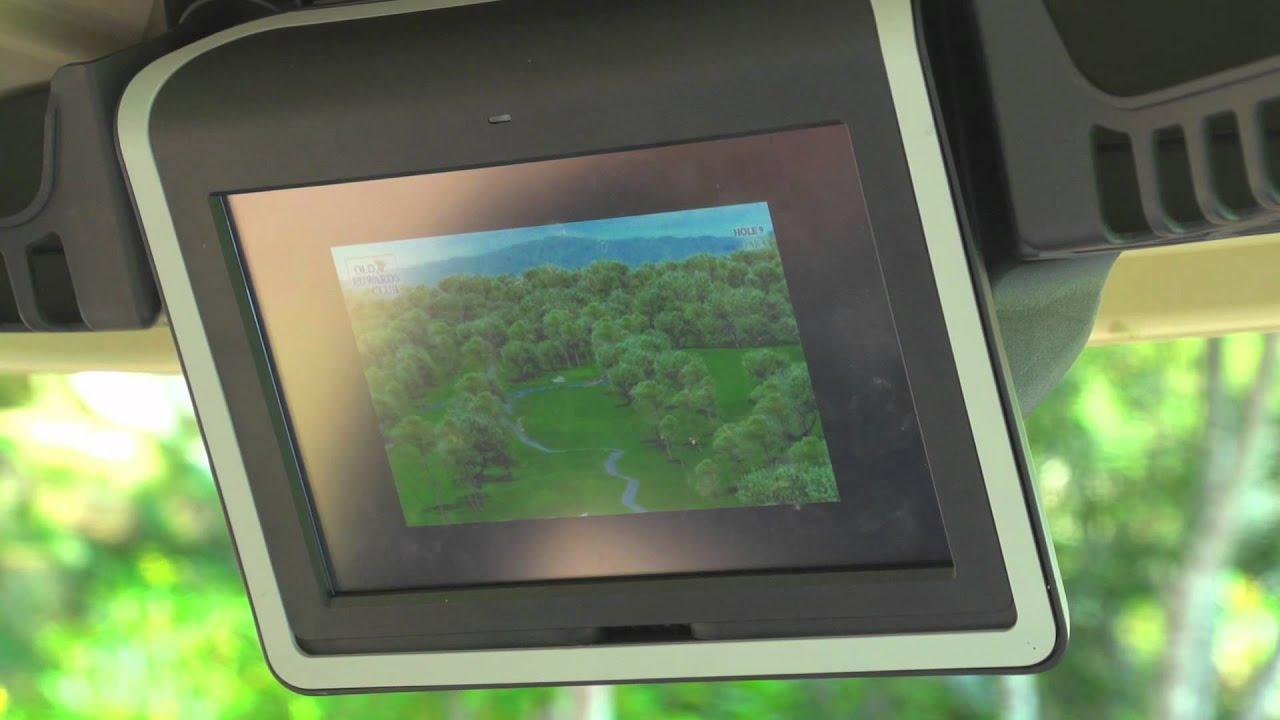 Club Car S Visage Mobile Golf Information System Green