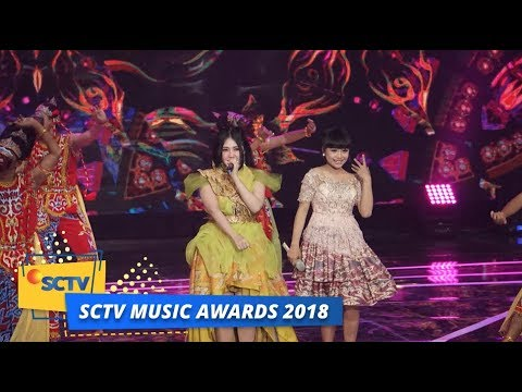 Via Vallen dan Tasya Rosmala - Juragan Empang | SCTV Music Awards 2018