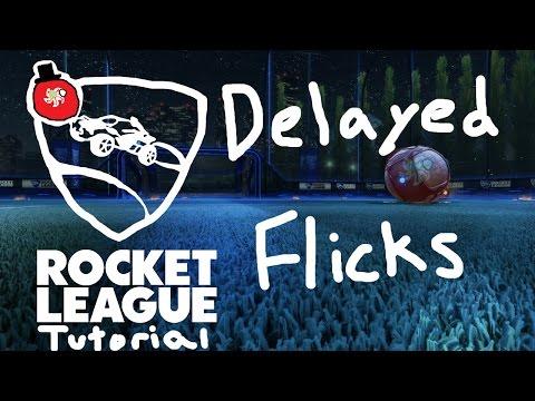 Delayed Flicks   Rocket League Tutorial
