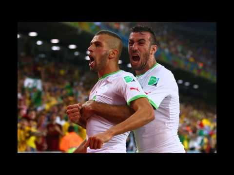algeria journey in brazil . رحلة الجزائر في البرازيل. 2014