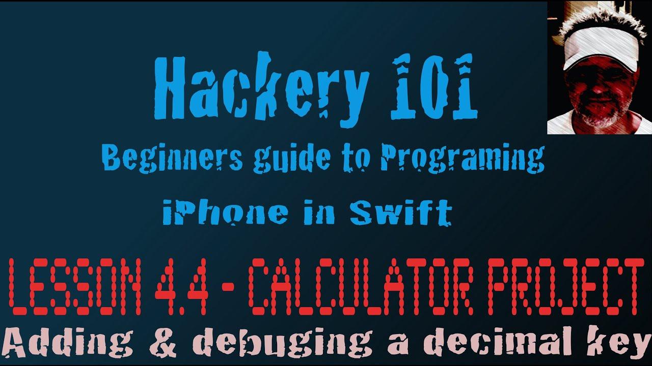 Add decimal place calculator: hackery 101 youtube.