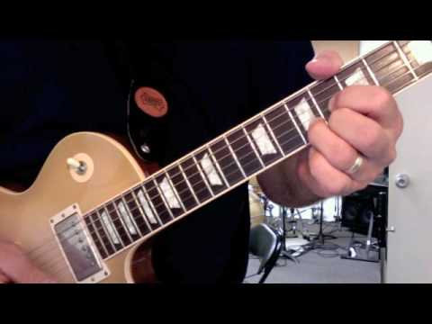 Partial Chord Shapes Lesson 4 - Arpeggiated Rock Guitar Parts - YouTube