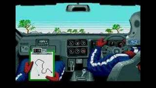 Lombard RAC Rally gameplay video (Atari ST)