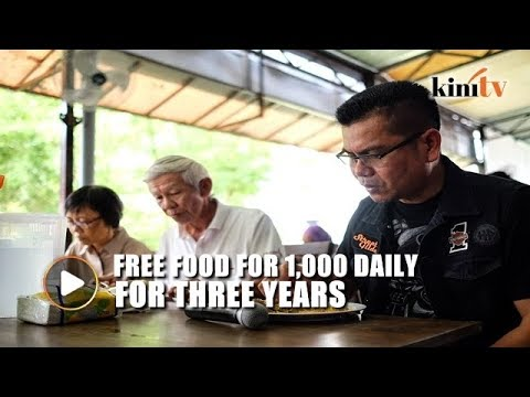 Jamal's new restaurant offers free food to 1,000 daily