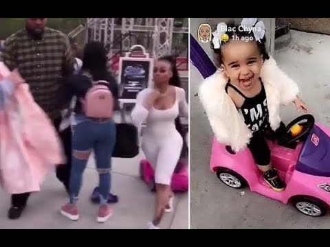 Girl who SLAPPED Blac Chyna at Six Flags speaks out!  LIVE FOOTAGE!!!