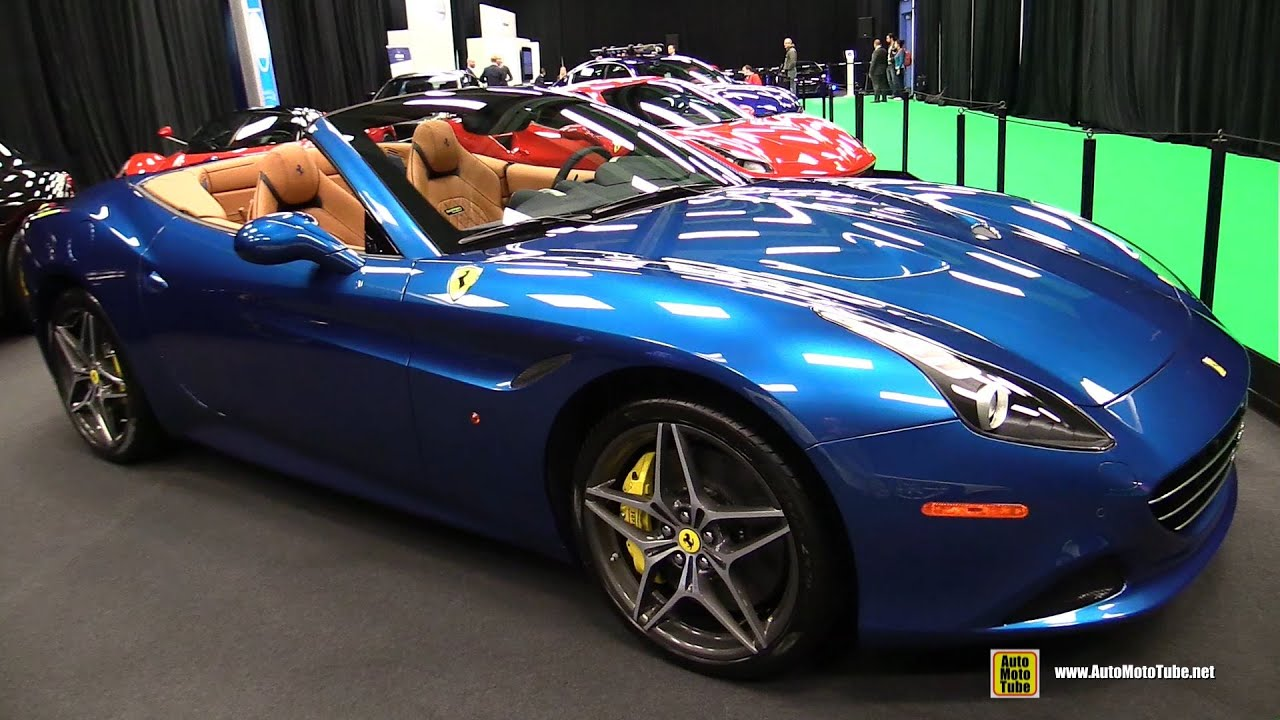 2016 ferrari california t exterior and interior for Ferrari california t interieur