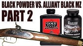 Black Powder vs  Alliant Black MZ - YouTube