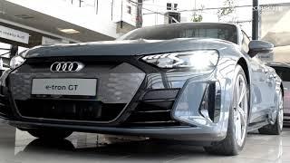 Audi e-tron GT quattro - Справжній спортивний характер і прогресивна розкіш.