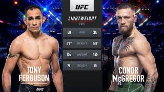 Conor McGregor vs Tony Ferguson UFC 223 full fight