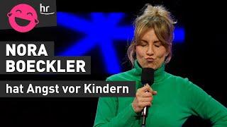 Nora Boeckler weiß, wie man Kinder schnell ruhigstellt