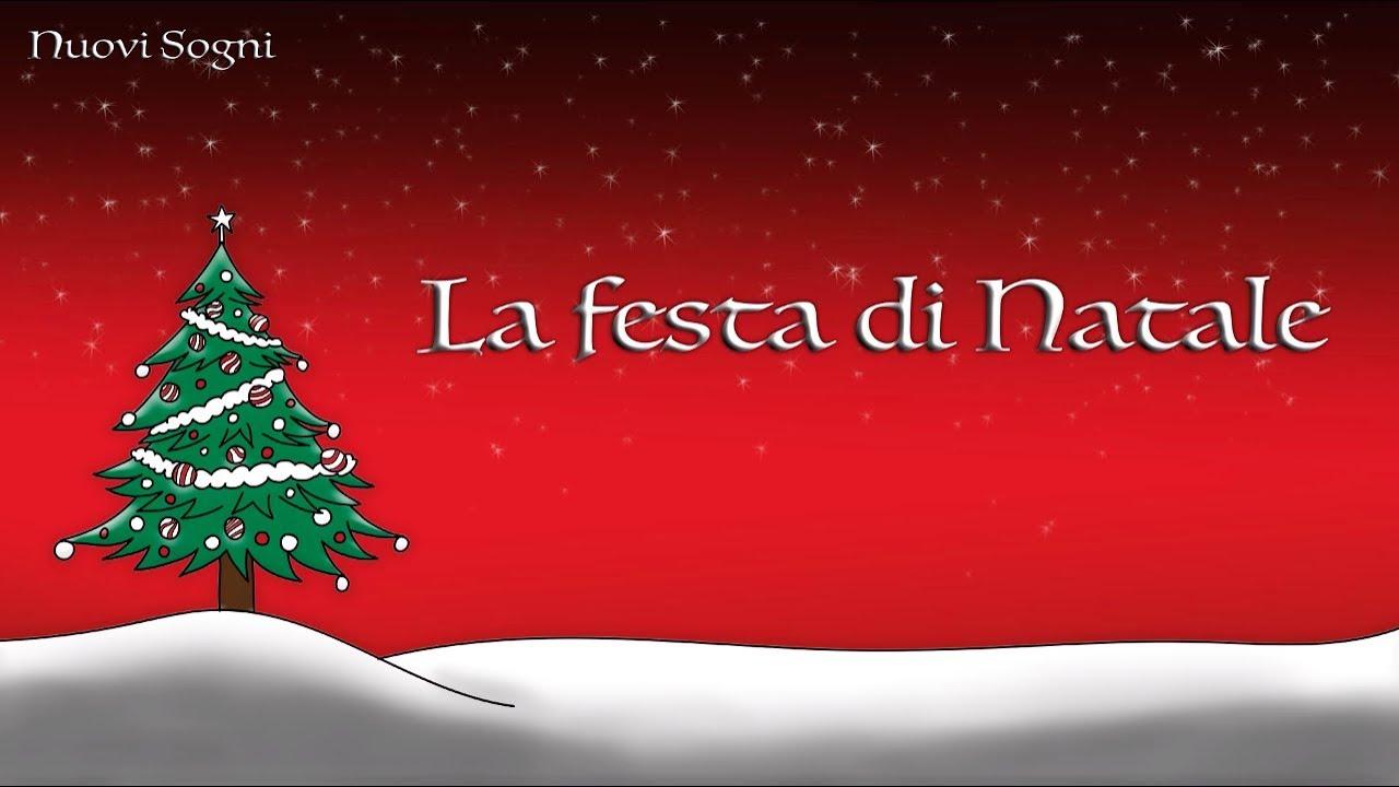 Natale E Festa.Canzoni Di Natale Per Bambini La Festa Di Natale