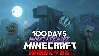 100 Days in a Parasite Apocalypse in Minecraft... Here's What Happened