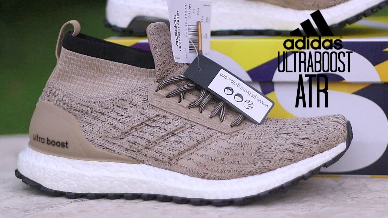 Adidas Ultraboost All Terrain ATR LTD Khaki Review - YouTube 98da261d4c11