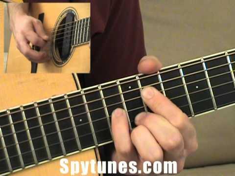 Chord Progression Master A Shape Guitar Exercise Youtube