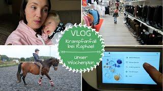 Affektanfall bei Raphael |Wocheneinkauf |Turnieroutfit für Leni | VLOG |Kathis Daily Life