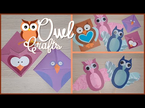Paper Owl Crafts!