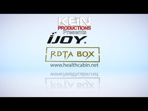 KBN Productions   Ijoy RDTA Box Mod   Full Review   Build & Wick Tutorial