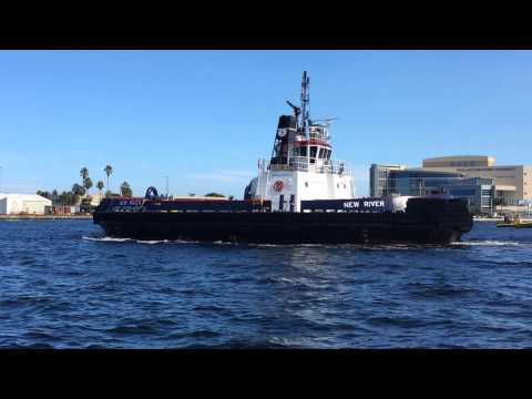 "Seabulk Towing, Inc.'s SDM tug ""New River"" with VEEDIMS IoT Fuel and Engine Monitoring System"