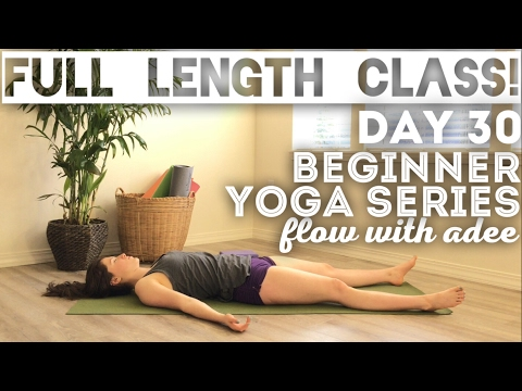 DAY 30/30 Beginner Yoga Series | Relax & Renew