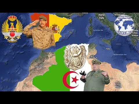 Spain VS Algeria Military Power Comparison 2017 - 2018