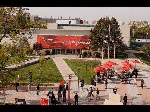 NJIT Full Campus Tour 2018 in 12 min