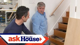 How to Update Oak Stair Treads and Risers | Ask This Old House