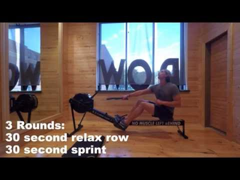 15 Minute Guided Rowing Workout