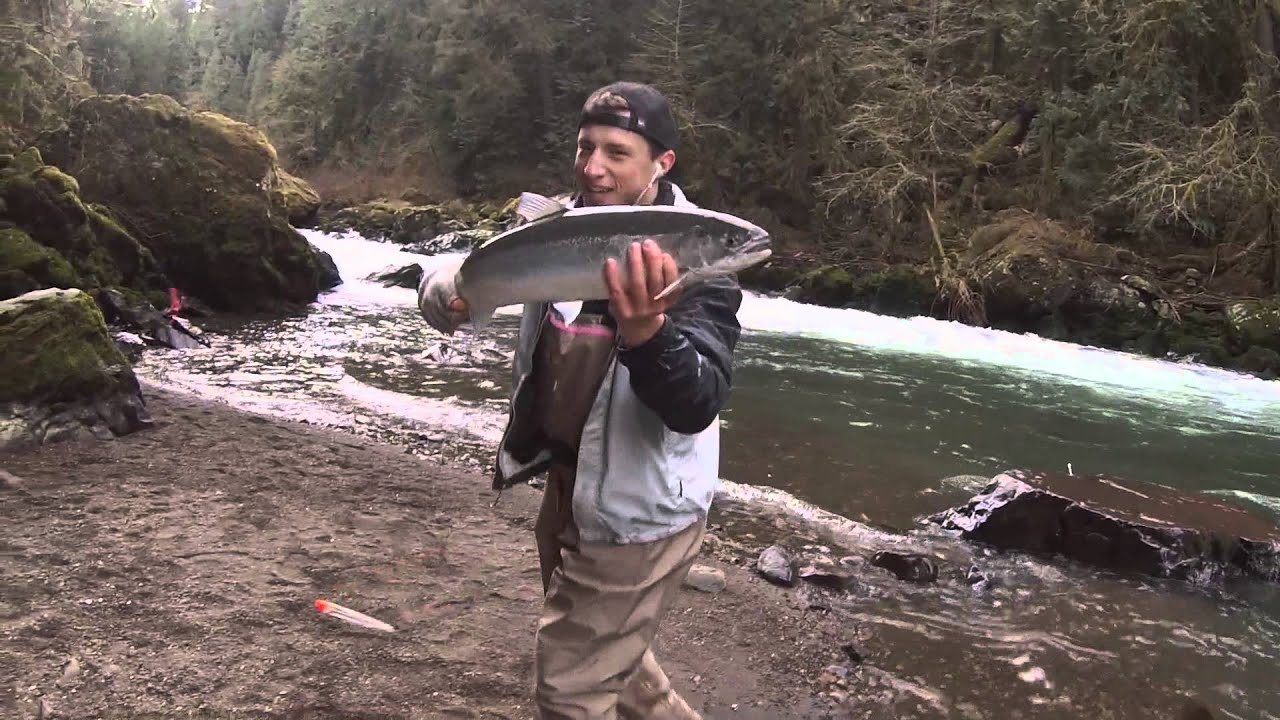 kalama river fishing with gopro hero 3 youtube