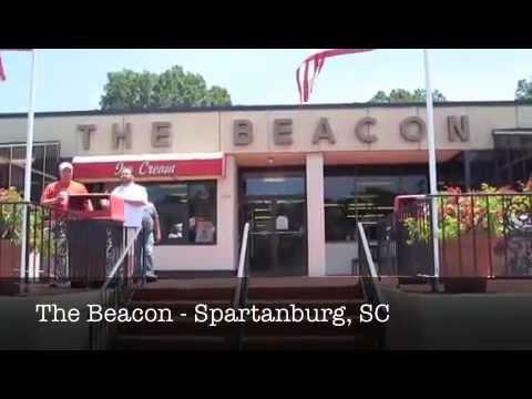 The Beacon Drive In Restaurant In Spartanburg South Carolina Youtube