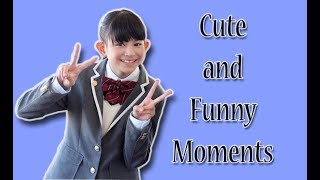 Cute and Funny Moments compilation of Miku Tanaka (田中美空) from S...